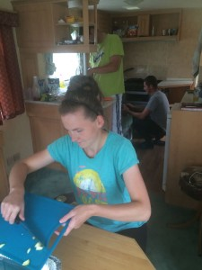 Cooking in Caravan With My Friends: Marta, Mateusz & Marek
